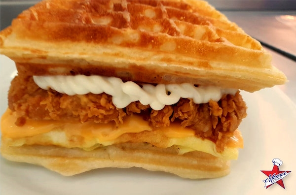 CHICKEN WAFFLE Monroe Chicken