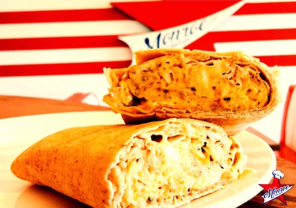 Egg & Cheese Sandwich Monroe Chicken - LIBdelivery