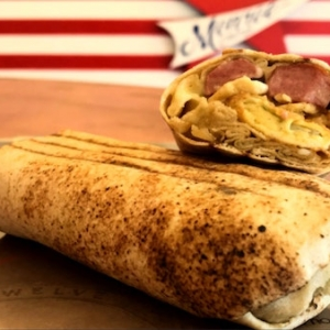 Egg Sausage & Cheese Sandwich