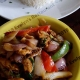 Chicken veg stir-fry