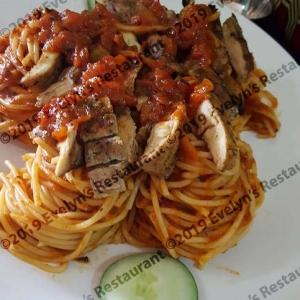 chicken pasta nest