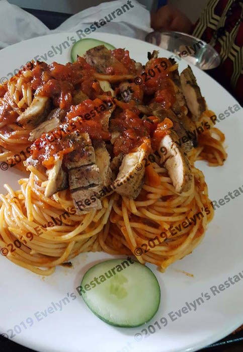 chicken pasta nest