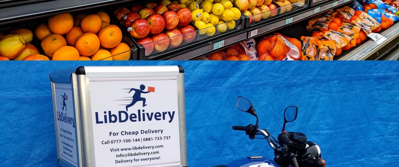 Order groceries online Liberia